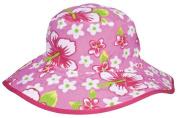 Banz Reversible Sunhat Pink Hawaii