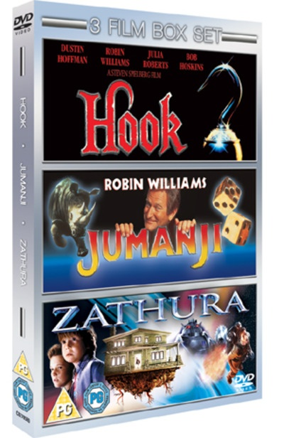 Jumanji/Hook/Zathura - A Space Adventure