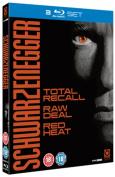 Total Recall/Raw Deal/Red Heat [Region B] [Blu-ray]