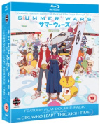 Summer Wars/The Girl Who Leapt Through Time [Region B] [Blu-ray]