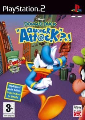 Disneys Donald Duck Quack Attack