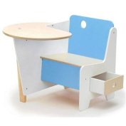 Offi Kids Mini-Drawer Doodle Desk - Blue