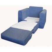 Fun Furnishings Denim Sleeper Chair