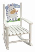 Teamson Kids - Children's Zebra Rocking Chair