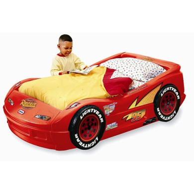 little tikes disney pixar 39 s cars the movie lightning mcqueen plastic toddler bed by little tikes. Black Bedroom Furniture Sets. Home Design Ideas
