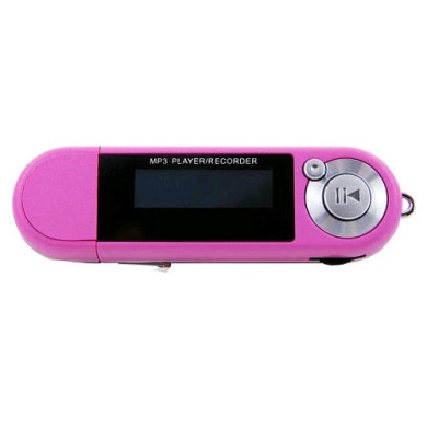 Riptunes 2GB MP3 Player - Pink
