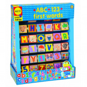 ABC 123 First Words Wood Blocks