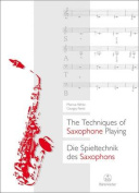 Techniques of Saxophone Playing