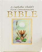 Catholic Childs 1st Communion Bible-NRSV