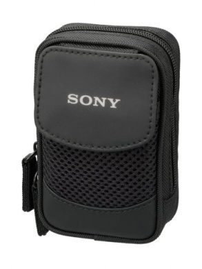 Sony  Soft Carrying Case For Sony T, W And N Series Cyber-Shot® Cameras - Black