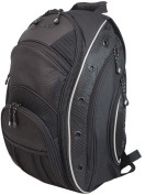 "Mobile Edge MEEV01 EVO Laptop Backpack - Fits Notebook PCs up to 16"", Black with Silver Trim"