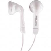 Koss White Ultra-lightweight Earbuds