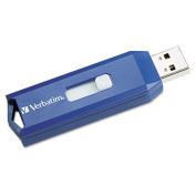 Classic USB 2.0 Flash Drive, 2GB, Blue