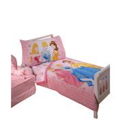 Disney Princess Dress to Shine 4 Piece Toddler Bedding Set