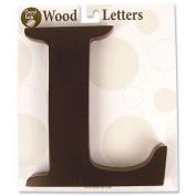 Trend-Lab 20312 Brown Wood Letter L