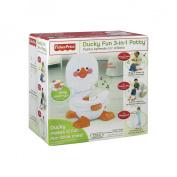 Fisher-Price Ducky Fun 3-in-1 Potty - White/Orange