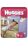 Huggies Little Movers Nappies - Size 5 - 23 Ct