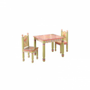 Children's Table & Chair Set - Magic Garden