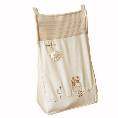 Natures Purest Sleepy Safari Nappy Stacker