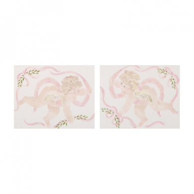 Cotton Tale Lollipops and Roses Wall Art