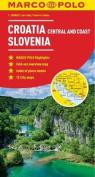 Croatia & Slovenia Map