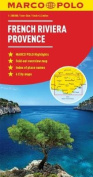 French Riviera, Provence Marco Polo Map