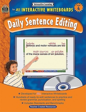 Interactive Learning: Daily Sentence Editing, Grade 4 (Interactive Learning: Daily Sentence Editing)