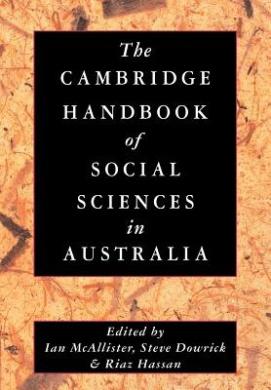 The Cambridge Handbook of Social Sciences in Australia