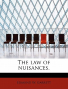 The Law of Nuisances.