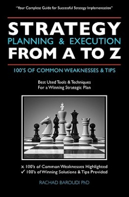 Strategy Planning & Execution from A to Z  : 100's of Common Weaknesses & Tips