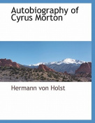 Autobiography of Cyrus Morton