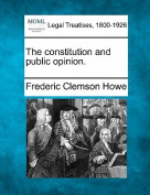 The Constitution and Public Opinion.