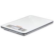 Soehnle Slim Design Digital Kitchen Scale, White