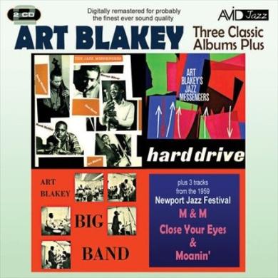 Three Classic Albums Plus: Big Band/Hard Drive/Jazz Messengers