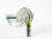 Helsinki Crumpled City Map