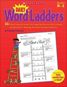 Daily Word Ladders, Grades K-1