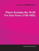 Piano Sonatas No.16-20 by Ludwig Van Beethoven for Solo Piano