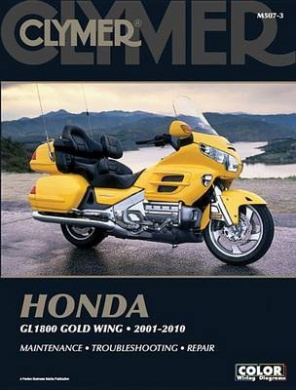 Clymer Honda GL1800 Gold Wing 2001-2010 [With CDROM]