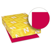 Wausau Paper 22553 Astrobrights Coloured Paper, 11kg, 11 x 17, Re-Entry Red, 500 Sheets-Ream