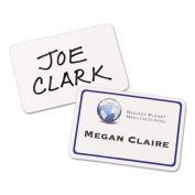 Flexible Self-Adhesive Laser/Inkjet Name Badge Labels, 2 1/3 x 3 3/8, BE, 40/PK