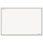 At-A-Glance AW601028 WallMates Self-Adhesive Dry Erase Writing Surface White-Gray 36 in. x 24 in.