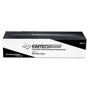 "KIMTECH SCIENCE Precision Wipes Tissue Wiper, 14 7/10"" x 16 3/5"" White, 140/Box"