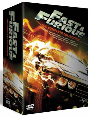 Fast and Furious Collection 1 - 5 (The Fast and the Furious)