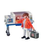 Playmobil - 4225 Doctor with Incubator