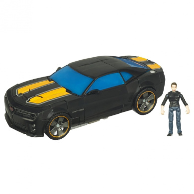 Transformers Dark of the Moon Mechtech Human Alliance Action Figure - Sam Witwicky and Bumblebee