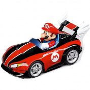 Pull and Speed Nintendo Wii Toy Car - Wild Wing Mario