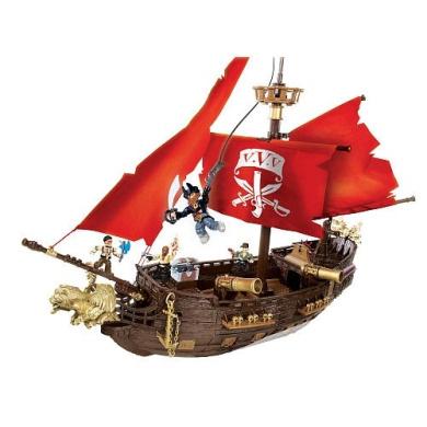 Mega Bloks Pyrates Captain Cutlass Stormstalker 95523