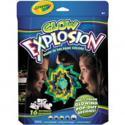 Crayola Glow Color Explosion Pop Out