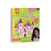 Fibre Craft 449031 3-D Foam Princess Castle Kit