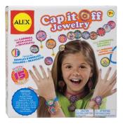 Alex Toys 757W Cap It Off Jewellery Kit for Kids Crafts